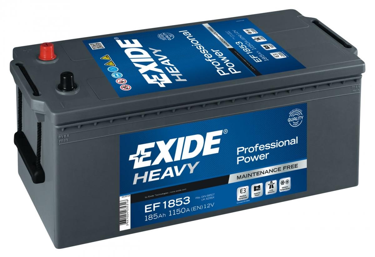 EXIDE PROF. 185 ა/ს EF1853