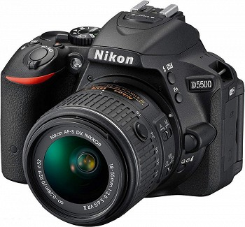 NIKON D5500 BLACK + KIT 18-55 VR II