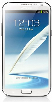 SAMSUNG N7100 GALAXY NOTE II MARBLE WHITE 16 GB