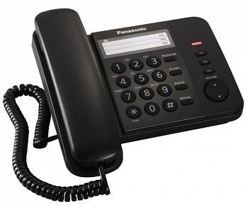 სახლის ტელეფონი PANASONIC KX-TS2352UAB BLACK