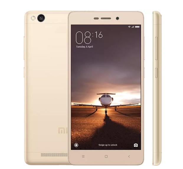 XIAOMI REDMI 3S DUAL SIM 16GB LTE GOLD