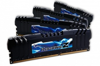 G.SKILL RIPJAWSZ 16GB (4 x 4GB) DDR3 2400MHZ (F3-19200CL11Q-16GBZHD) + FAN
