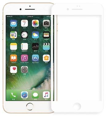 ეკრანის დამცავი GLASS PRO+ TEMPERED GLASS APPLE IPHONE 7/8 PLUS WHITE