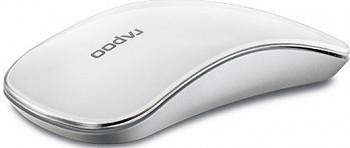 RAPOO T6 WIRELESS TOUCH OPTICAL MOUSE WHITE