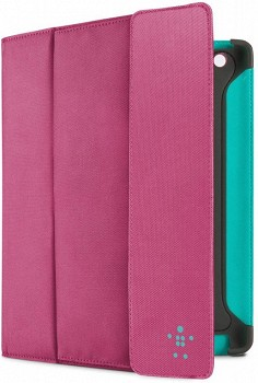 BELKIN STORAGE FILIO WITH STAND FOR IPAD PINK F8N747CWC02