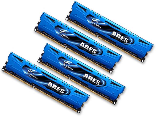 G.SKILL 32 GB (8 GB x 4) DDR3 1866 MHZ (F3-1866C10Q-32GAB)