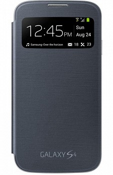 SAMSUNG GALAXY S4 S VIEW COVER NOVA BLACK