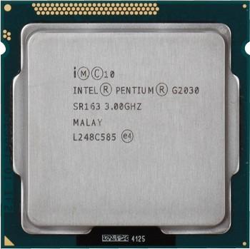 INTEL PENTIUM G2030 (3 MB ქეშ მეხსიერება, 3.0 GHZ) TRAY
