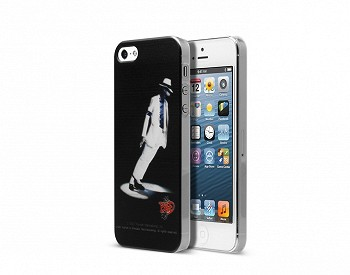 ZENUS IPHONE 5/5S MIACHAEL JACKSON SMOOTH LEAN CLIP CASE BLACK