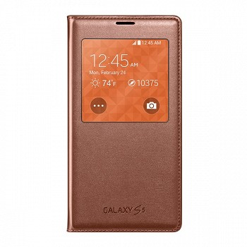 SAMSUNG GALAXY S5 S VIEW COVER ROSE GOLD (EF-CG900BFEGRU)