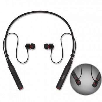 REMAX NECKBAND BLUETOOTH EARPHONE RB-S6 BLACK