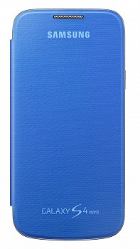 SAMSUNG GALAXY S4 MINI FLIP COVER BLUE