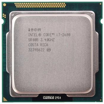 INTEL CORE I7 2600 (8 MB ქეშ მეხსიერება, 3.4 GHZ) TRAY