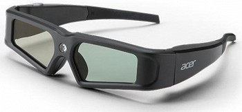 ACER E2B DLP 3D GLASSES (BLACK)