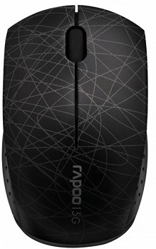 RAPOO 3300P SUPER-MINI WIRELESS OPTICAL MOUSE BLACK