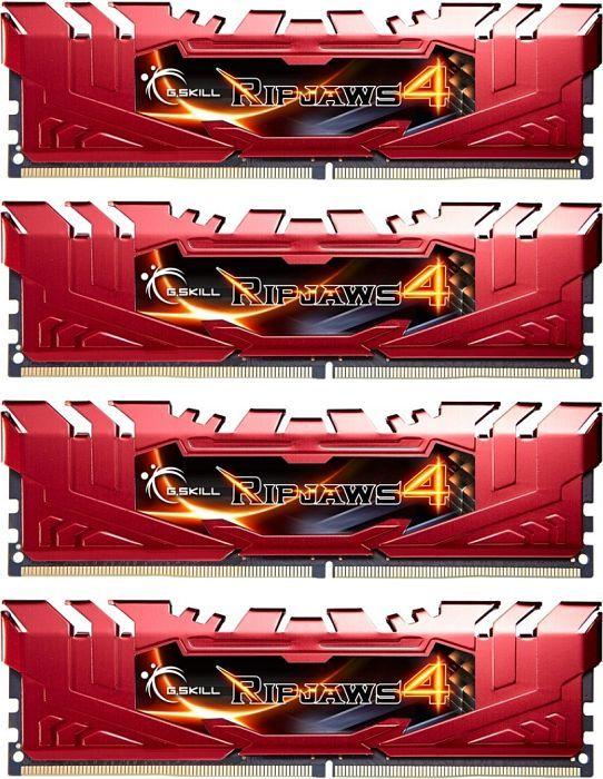 G.SKILL 32 GB (8 GB x 4) DDR4  2133 MHZ (F4-2133C15Q-32GRR)