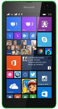 MICROSOFT LUMIA 535 DUAL 8GB GREEN