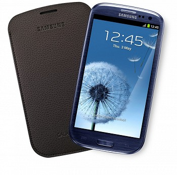 SAMSUNG GALAXY S3 POUCH - DARK BROWN