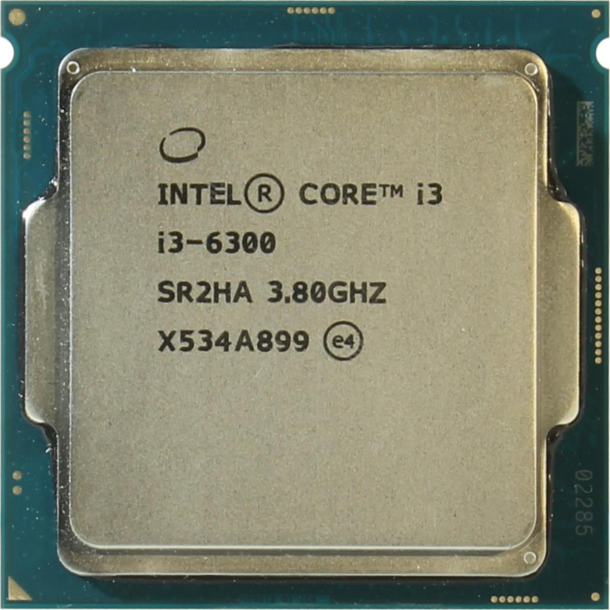 INTEL CORE I3 6300 (4 MB ქეშ მეხსიერება, 3.8GHZ) BOX