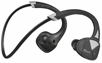 TRUST VELO NECKBAND-STYLE WIRELESS (22501) BLACK