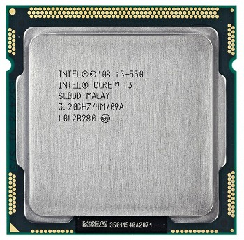 INTEL CORE I3 550 (4 MB ქეშ მეხსიერება, 3.2 GHZ) BOX