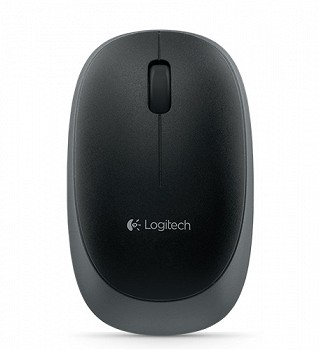LOGITECH WIRELESS MOUSE M165 BLACK (6156023)