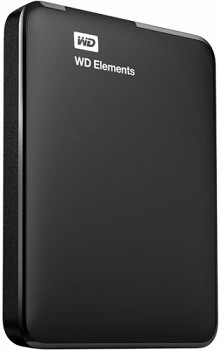 WESTERN DIGITAL ELEMENTS HDD USB 3.0 1TB BLACK