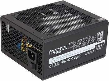 FRACTAL DESIGN NEWTON R3 600W (FD-PSU-NT3B-600W)