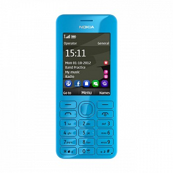 NOKIA 206 BLUE