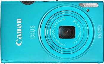 CANON DIGITAL IXUS 125 HS BLUE