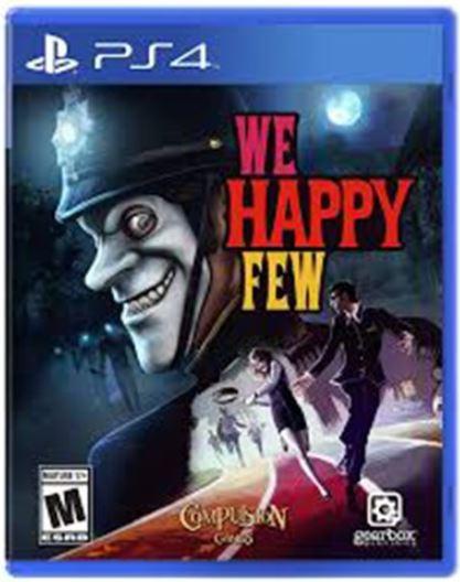 კონსოლის თამაში WE HAPPY FEW (PLAYSTATION4)