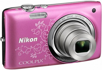 NIKON COOLPIX S2700 DECORATIVE PINK