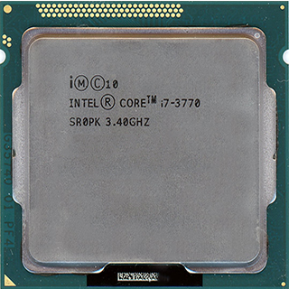 INTEL CORE I7 3770 (8 MB ქეშ მეხსიერება, 3.4 GHZ - 3.9 GHZ) TRAY