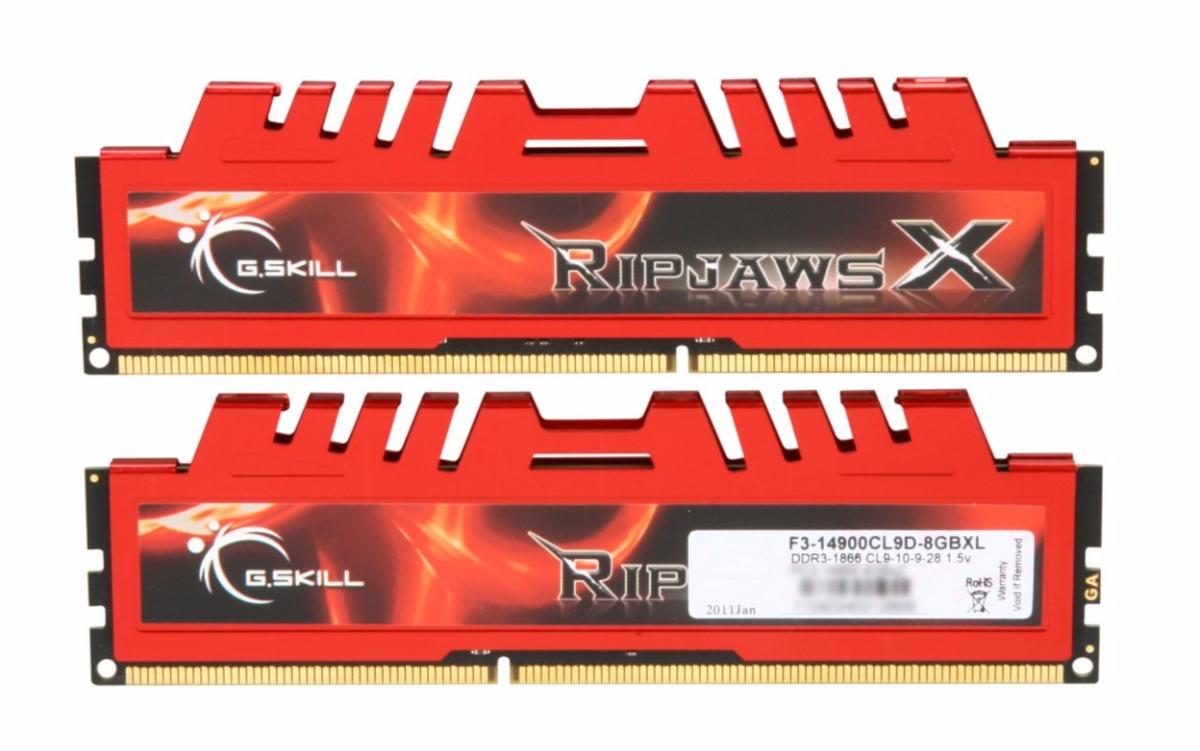 G.SKILL DDR3 8 GB (2 X 4GB) 3200 MHZ (F3-14900CL9D-8GB)
