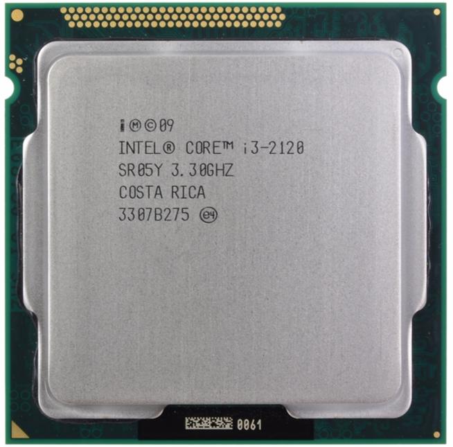 INTEL CORE I3 2120 (3 MB ქეშ მეხსიერება, 3.3 GHZ) TRAY