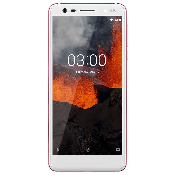 მობილური ტელეფონი NOKIA 3.1 (TA-1063) 16GB WHITE