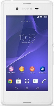 SONY XPERIA E3 (D2212) 4GB WHITE