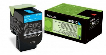 LEXMARK  80C2HC0  RETURN TONER