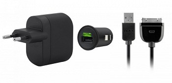 BELKIN CHARGING KIT BLACK (F8Z752CW03)