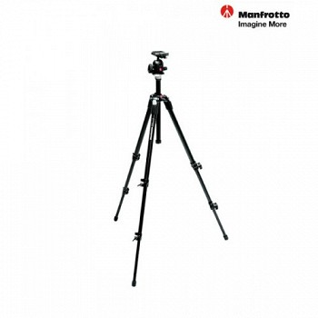 MANFROTTO TR190XDB+HD496RC2
