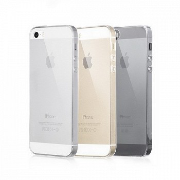 მობილურის ჩასადები HOCO ULTRASLIM TPU CASE FOR APPLE IPHONE 5 / 5S TRANSPARENT