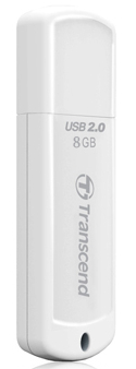 TRANSCEND JETFLASH 370 8GB WHITE