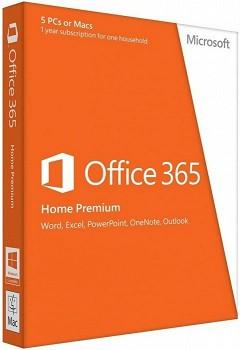 MICROSOFT OFFICE 365 HOME PREMIUM 32-BIT/X64 ENGLISH (6GQ-00019)