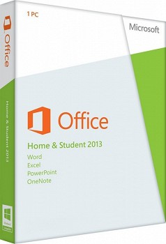 MICROSOFT OFFICE HOME AND STUDENT 2013 32/64 ENGLISH CEE ONLY EM DVD (79G-03573)