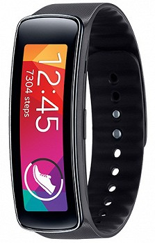 SAMSUNG GEAR FIT (SM-R3500ZKACAC) 4GB BLACK