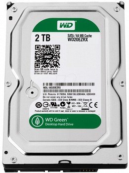 WESTERN DIGITAL GREEN 2TB 3.5