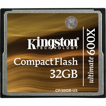 KINGSTON COMPACTFLASH 32GB U3 ULTIMATE 600X