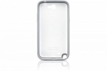 SAMSUNG GALAXY NOTE II BACK COVER WHITE (EFC-1J9BWEGSTD)