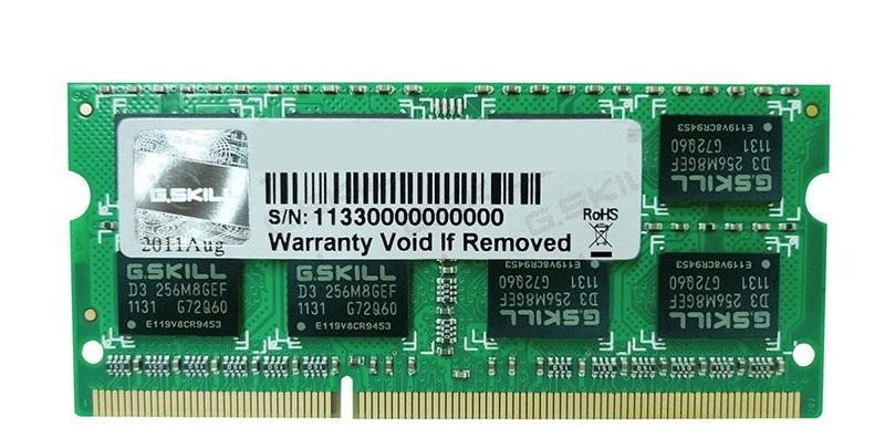 G.SKILL 4GB DDR3 1333MHZ (F3-1333C9D-4GSL)