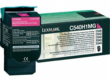 LEXMARK C54X, X54X C540H1MG MAGENTA